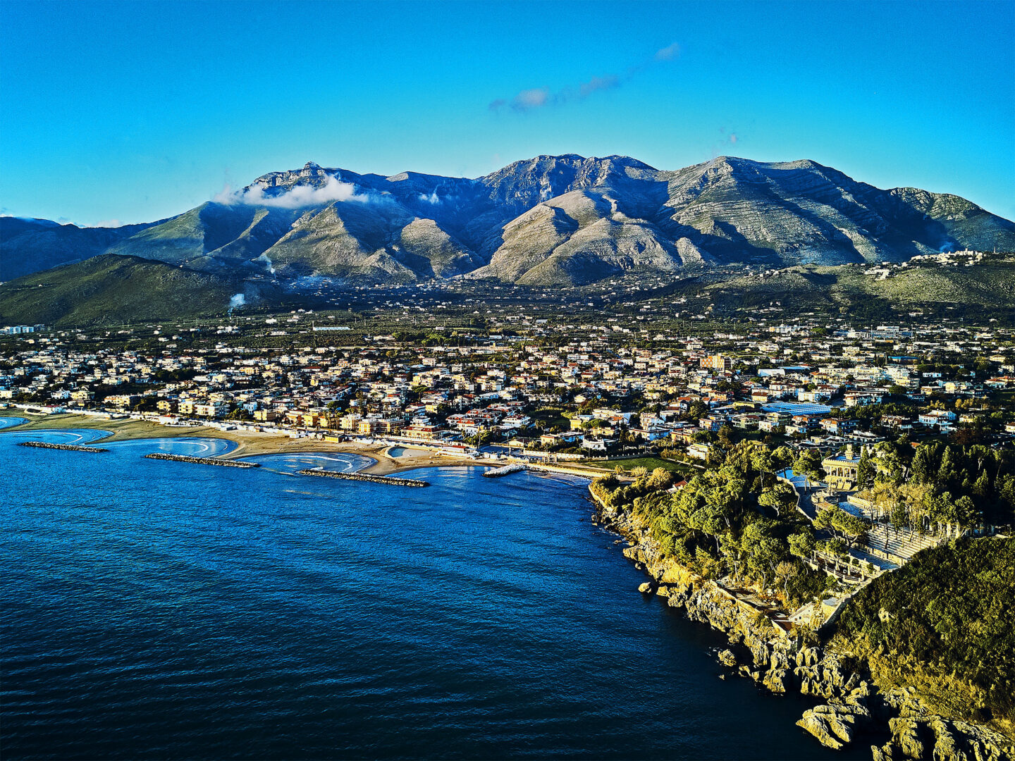 Landscape Photography Formia Drone