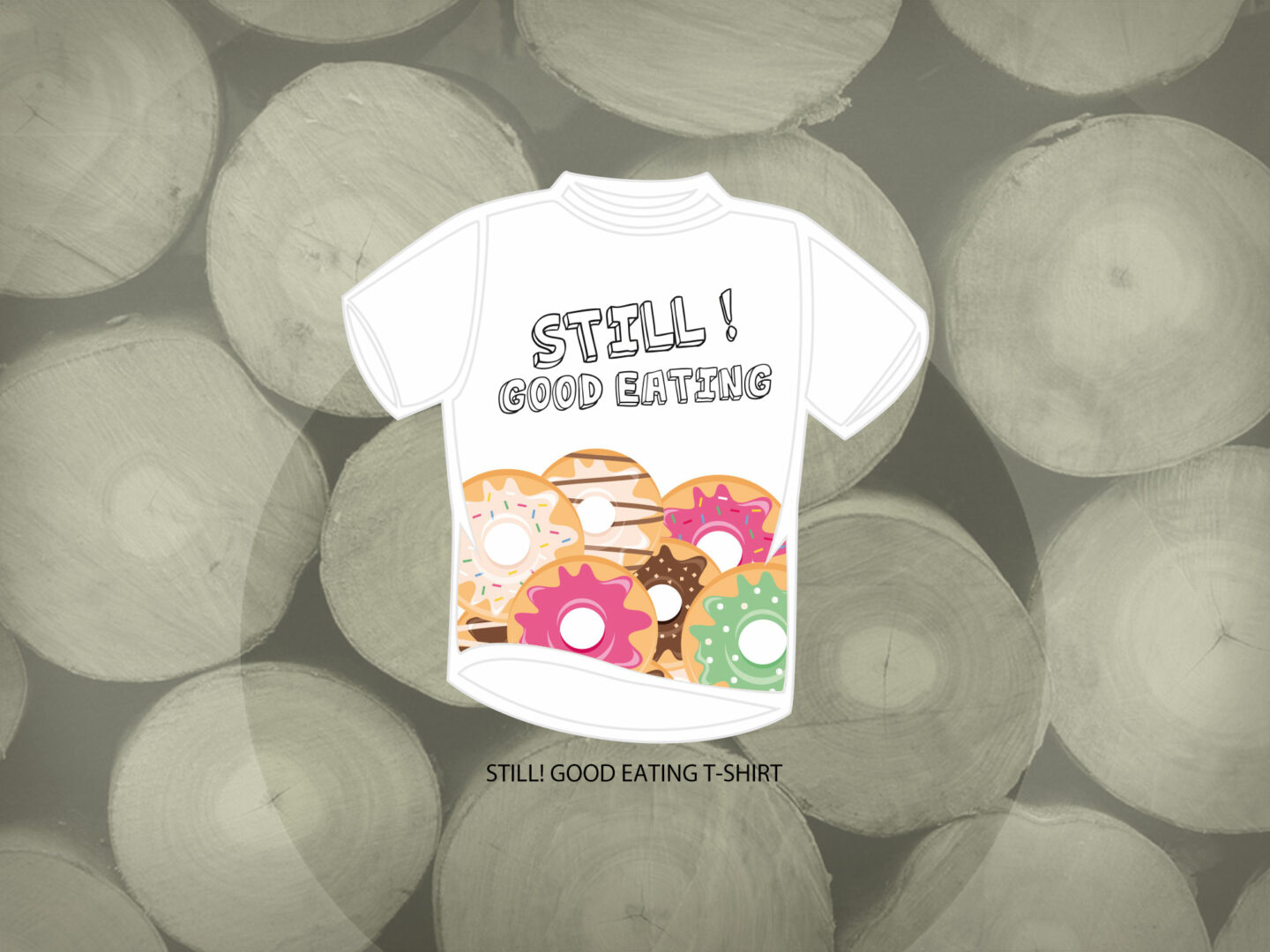 Still! Skateboards Grafica Abbigliamento Sportivo T-Shirt Still! Good Eating